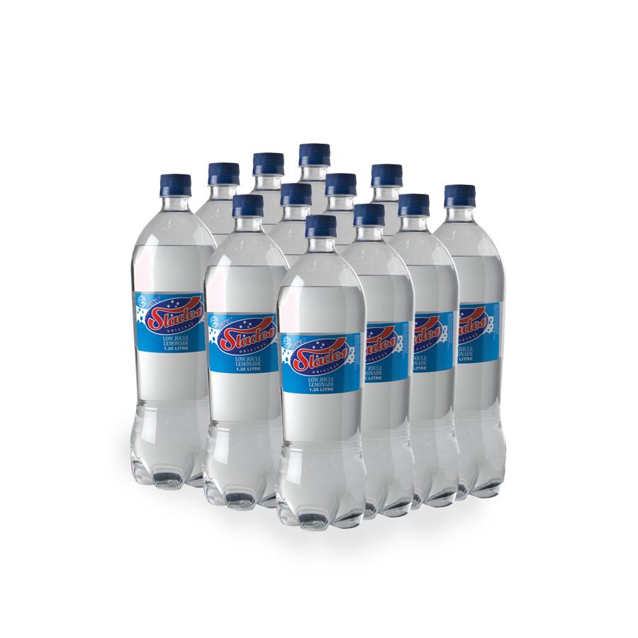 Slades 1 25l Diet Lemonade Slab Slades Beverages
